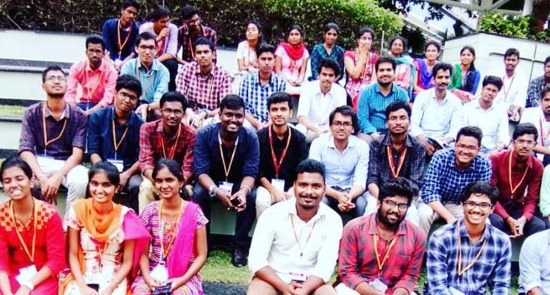 Students at Cognizant R & D, Chennai