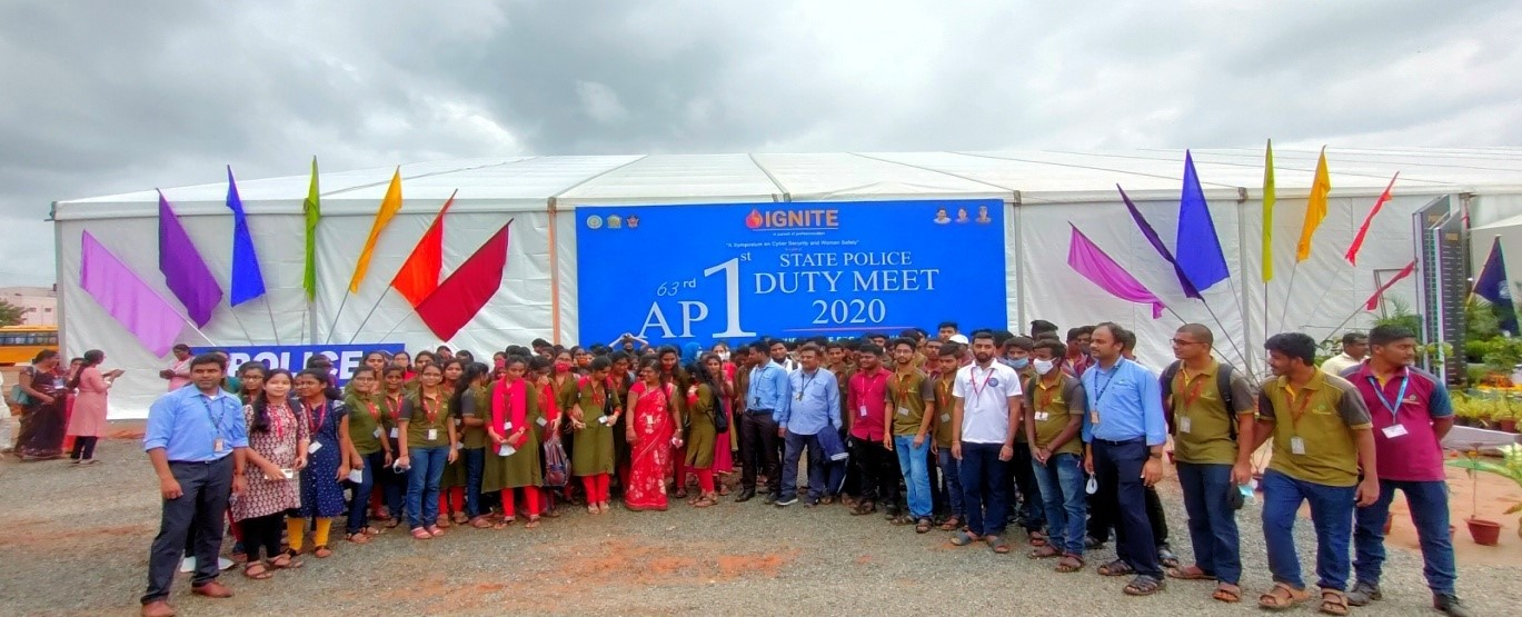 1st (63rd) AP State Police Duty Meet – IGNITE 2020